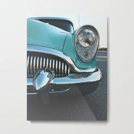 Old Vintage Car Metal Print