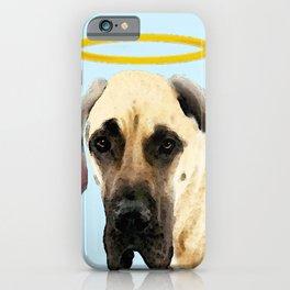 Great Dane Art - I Didn't Do It iPhone Case