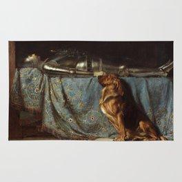 Briton Riviere - Requiescat, 1888 Rug