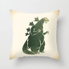 Godzilla - King of the Monsters Throw Pillow