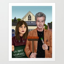 Twelfth & Clara Art Print