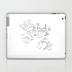 Puzzle Woman Laptop & iPad Skin
