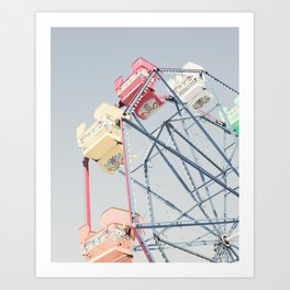 California Wheel Art Print