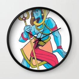 Shiva Hindu Lord Wall Clock