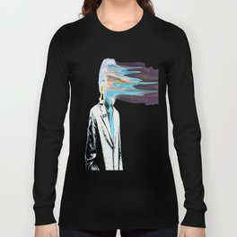 NO ONE AROUND HERE HAS THE GUTS INVERT Long Sleeve T-shirt