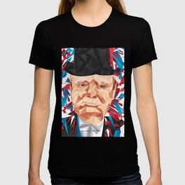 Portrait of Sir Winston Churchill T-shirt