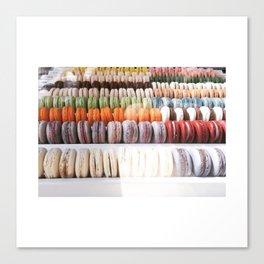macaroons Canvas Print