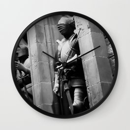Suits of Armour Wall Clock