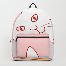 Home Sweet Home With Cat Backpack