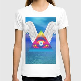 Third Eye with Wings T-shirt
