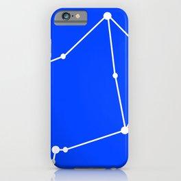 Libra (White & Blue) iPhone Case