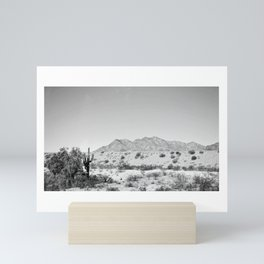 Arizona Desert Mini Art Print