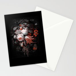 sacred flowers Stationery Cards