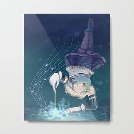 Sayaka Miki Metal Print