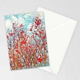 I Scratch the Sky Stationery Cards