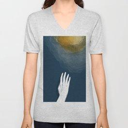 Reach for the sun Unisex V-Neck