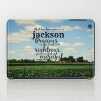 percy jackson iPad Cases featuring Jackson by KimberosePhotography