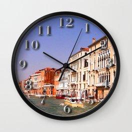 Grand Canal, Venice Wall Clock