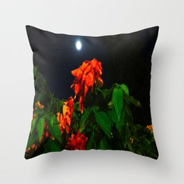 Moonshine Garden Throw Pillow