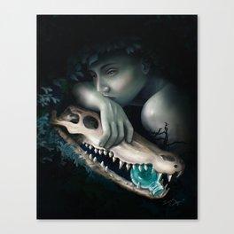 Crocodile Tears Canvas Print
