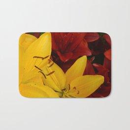 """""""A Gathering of Lilies"""" - 2 [D4466~24] Bath Mat"""