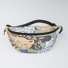 Cats are out Fanny Pack