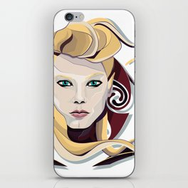 Queen Lagertha iPhone Skin