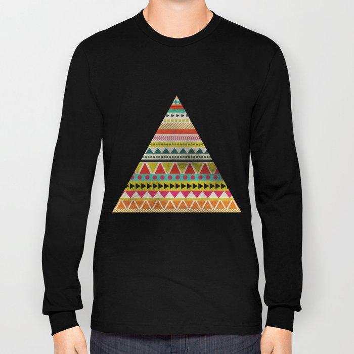 AZTEC TRIANGLE Long Sleeve T-shirt