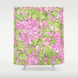 Spring blossoms explosion Shower Curtain