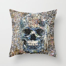 Old Story Throw Pillow