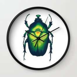 Chafer Beetle Wall Clock