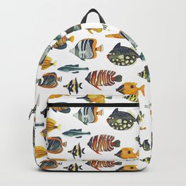 School of Tropical Fish Backpack