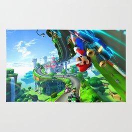 Super Mario Trip Rug