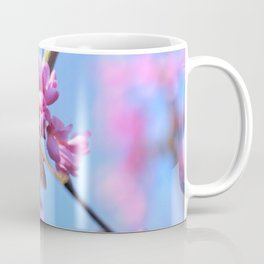 Eastern Redbud And The Bee Coffee Mug