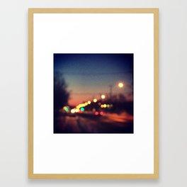 Lighting up MTL Framed Art Print