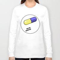 akira Long Sleeve T-shirts featuring akira pill by tama-durden