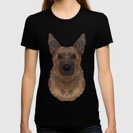 New German Shepherd Portrait T-shirt
