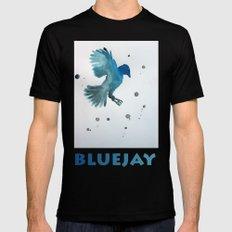 Bluejay Black MEDIUM Mens Fitted Tee