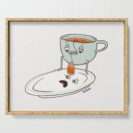 Tea Baggin' Serving Tray