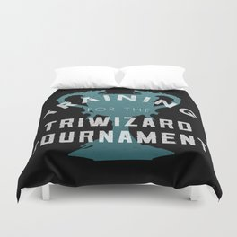 Training: Triwizard  Cup Duvet Cover