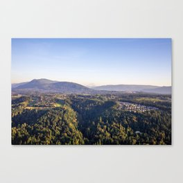 Nature in the Hills  Canvas Print