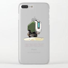 BOO BOO DOO DE DOO- Bastion Clear iPhone Case