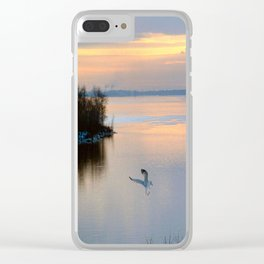 Hovering Clear iPhone Case