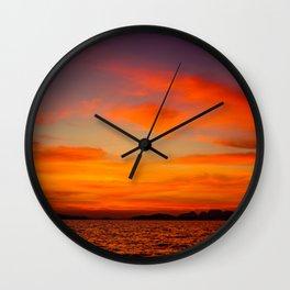 Phuket Sunset Wall Clock