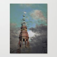 copenhagen Canvas Prints featuring Copenhagen by Phil Hill