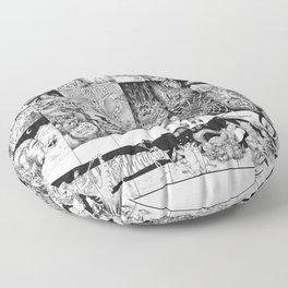 Inktober 2016 Floor Pillow