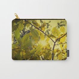 Aged Golden Leaves Autumn Botanical / Nature Photograph Carry-All Pouch
