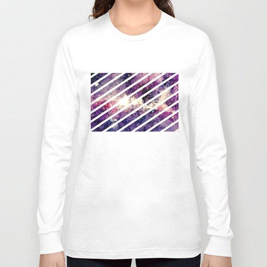 watercolor galaxy Long Sleeve T-shirt