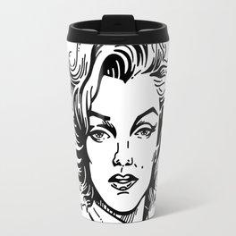 pretty Marilyn Travel Mug
