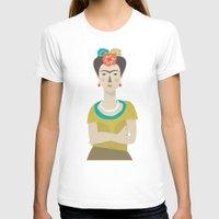 frida T-shirts featuring Frida by Judy Kaufmann